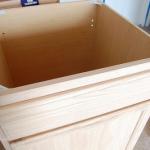 faire une armoire suspendue pour l'évier