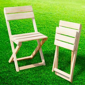faire une chaise pliante avec dossier