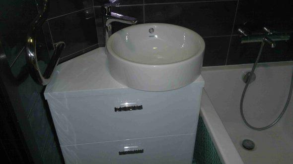 faire une armoire sous l'évier avec vos propres mains en plastique