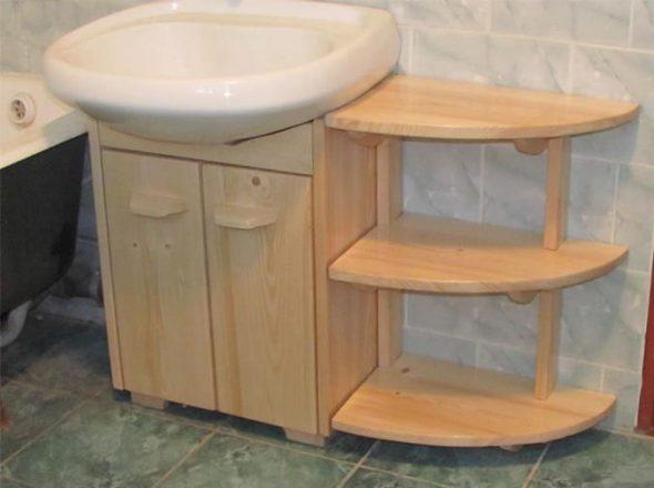 faire une armoire sous l'évier avec vos propres mains à partir de matériaux de récupération