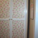 restauration de papier peint du cabinet