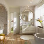 conception d'armoires de salle de bain
