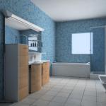 photo de meuble de salle de bain