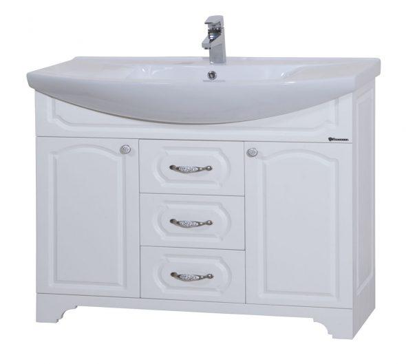 meuble de toilette dans la salle de bain