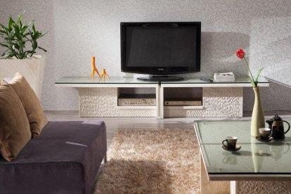 meuble TV en pierre