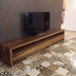Version meuble TV des palettes