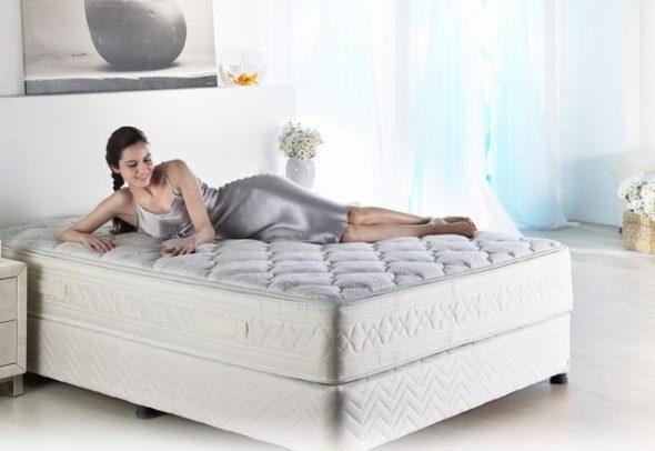 kies een comfortabele matras voor het bed
