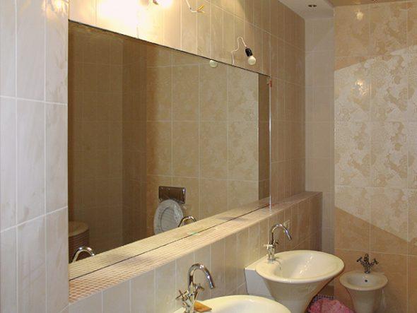 photo miroir de salle de bain