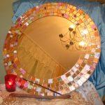 Miroir de style oriental