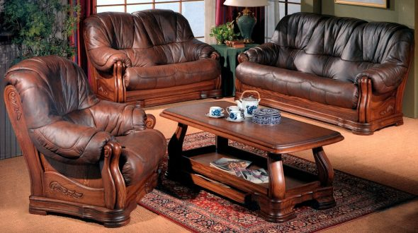Prix des meubles en cuir