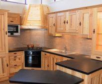 Set de cuisine à faire soi-même à partir de panneaux de meubles photo