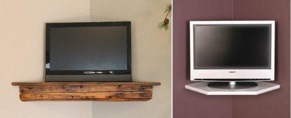 TV-hyllyjen näytteet