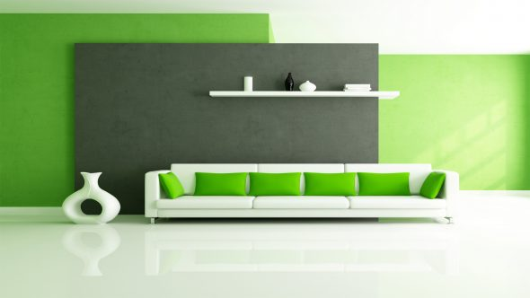 Seinän tekstuurin ja värin suunnittelu