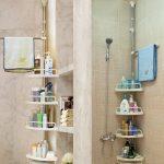 Étagères de salle de bain suspendues