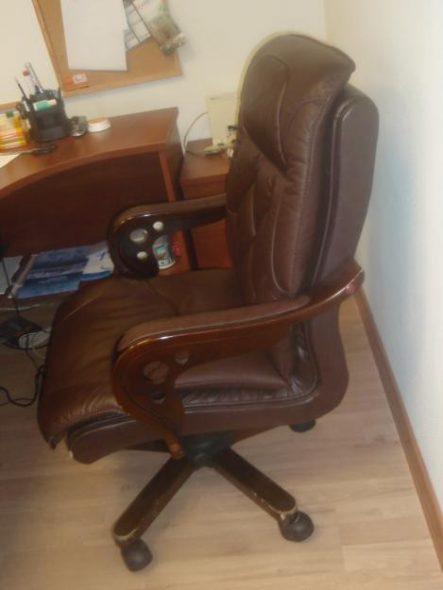 Image de réparation de chaise de bureau