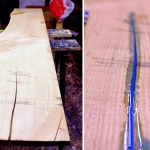 Processus de fabrication de table rougeoyante