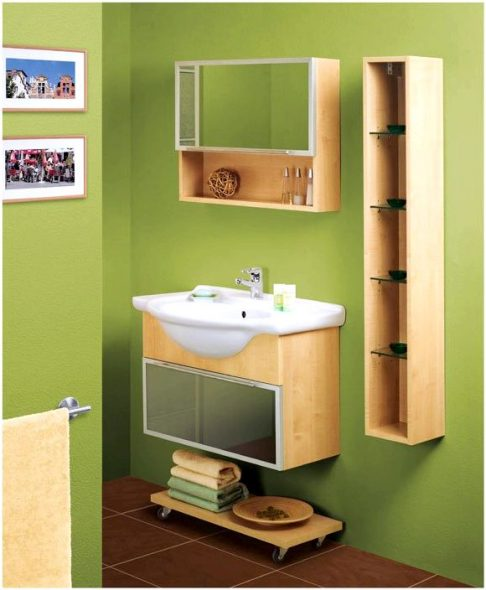 tee kylpyhuoneen hyllyt itse