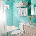 étagères à serviettes pour petites salles de bains