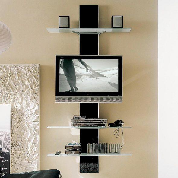 étagère murale pour tv