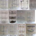 étagères de salle de bains dans la conception