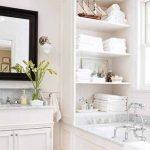 käytännölliset hyllyt kylpyhuoneessa