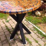 table en chêne brillant faites-le vous-même