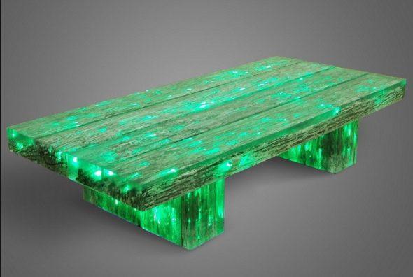 tableau lumineux faites-le vous-même vert