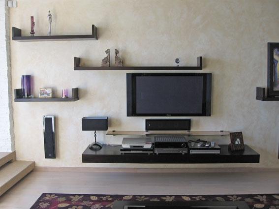 Armoires de télévision à l'intérieur