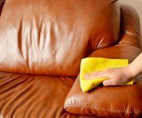 prendre soin des meubles en cuir