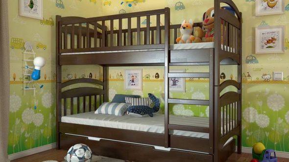 Photo de lits superposés pour enfants