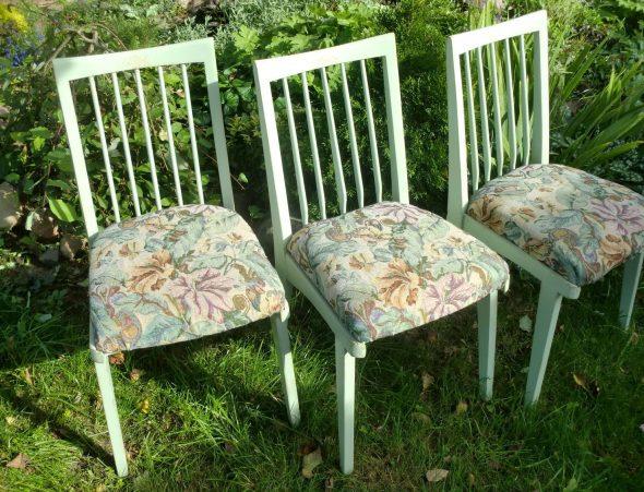 Restauration artisanale de chaises de meubles