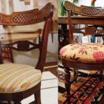 Restauration de bricolage de chaises
