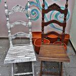 Restauration d'une chaise en bois