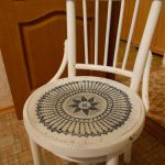 Restauration d'une chaise viennoise