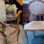 Restaurer une vieille chaise