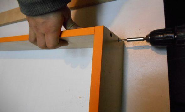 Assemblage du tiroir