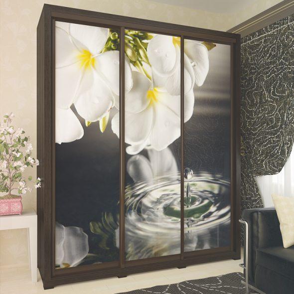 Armoire Domino, look élégant d'une armoire standard
