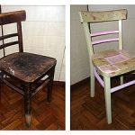Vieux fauteuil décrépit