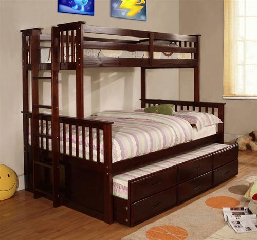 gamme de lits superposés en bois