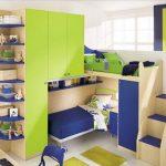 Meubles pour enfants pour deux enfants dans une petite pièce