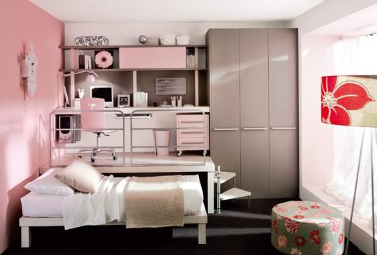 Concevoir une petite chambre pour une fille