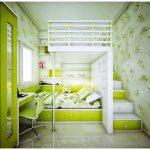 Meuble multifonctionnel superposé pour petits appartements