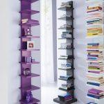 Idea kirjojen säilyttämiseen pienessä huoneessa