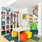 Mukava lasten alue pelejä ja toimintaa varten