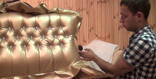 Belle tête de lit pour le lit faites vous-même