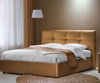 lit avec éco-cuir