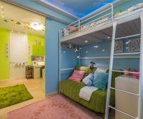Le lit de Swart à l'intérieur de la pépinière