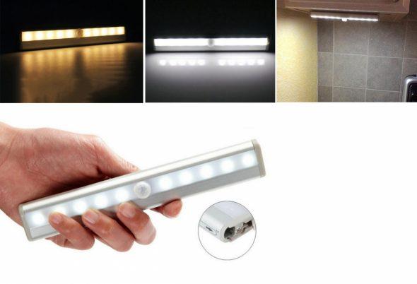 Éclairage d'armoire à LED