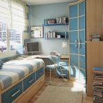 Petite chambre pour garçon adolescent
