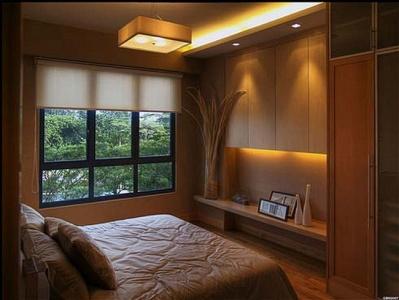 Petite chambre aux couleurs vives